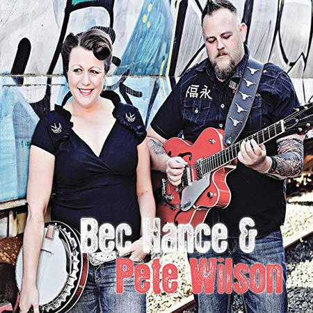 Bec Hance and Pete Wilson